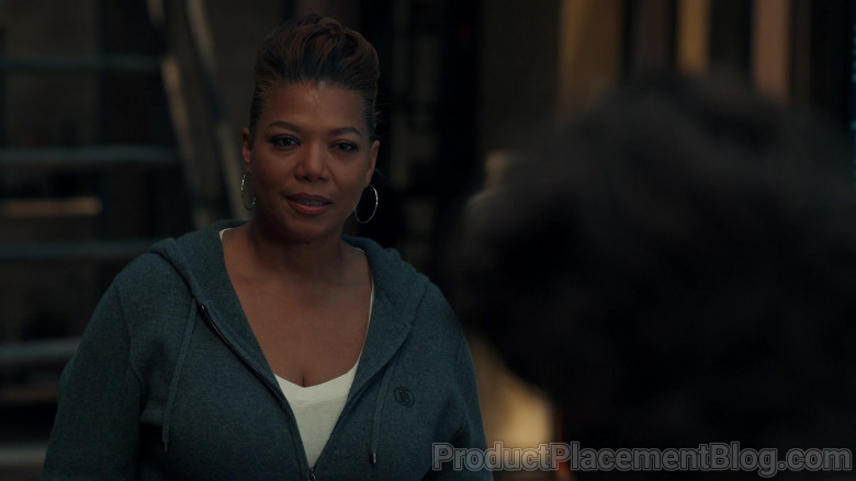 Burberry Women's Hoodie of Queen Latifah as Robyn McCall in The Equalizer S01E02 (3)