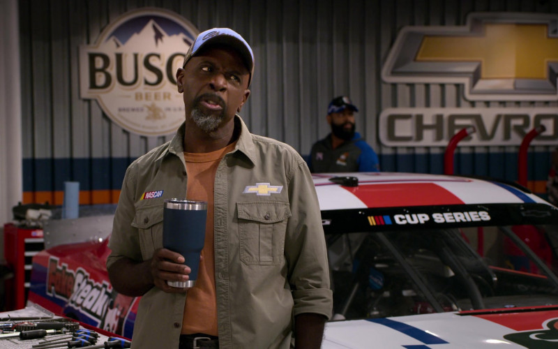 Busch Beer and Chevrolet in The Crew S01E10 No One Likes You. No One. (2021)