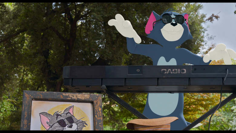 CASIO Digital Piano in Tom and Jerry Movie (1)