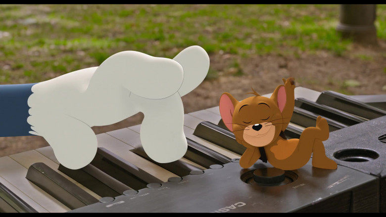 CASIO Digital Piano in Tom and Jerry Movie (2)