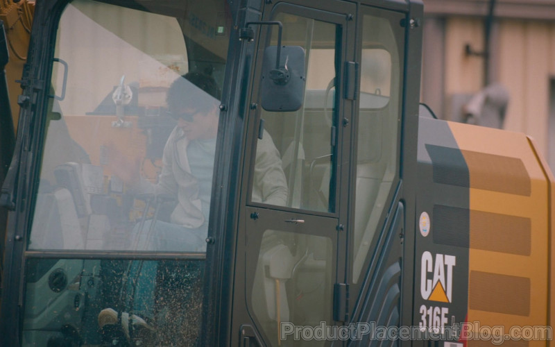 CAT 316F L Hydraulic Excavator in The Map of Tiny Perfect Things