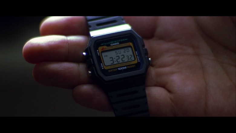 Casio Illuminator W-741 Watch in Enemy of the State (1998)
