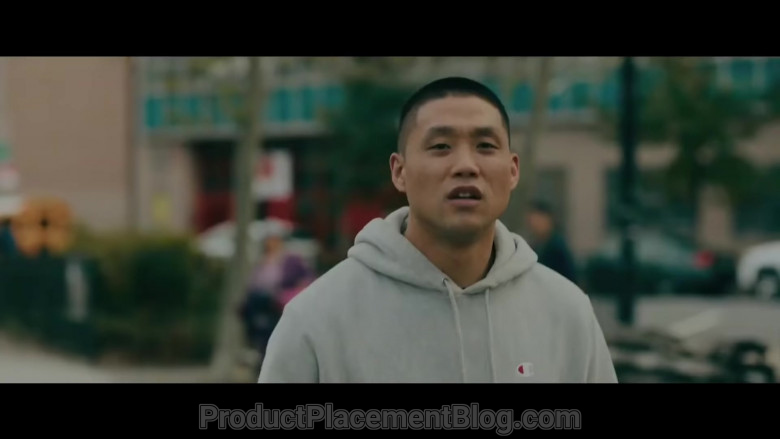 Champion Men's Hoodie of Taylor Takahashi as Alfred 'Boogie' Chin (2)