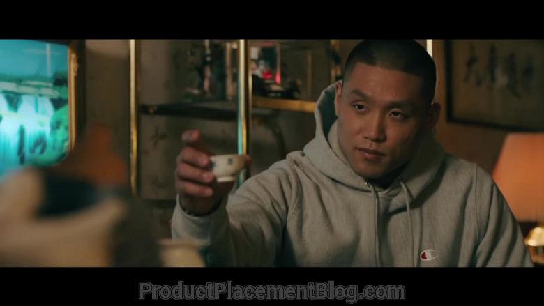 Champion Men's Hoodie of Taylor Takahashi as Alfred 'Boogie' Chin (3)