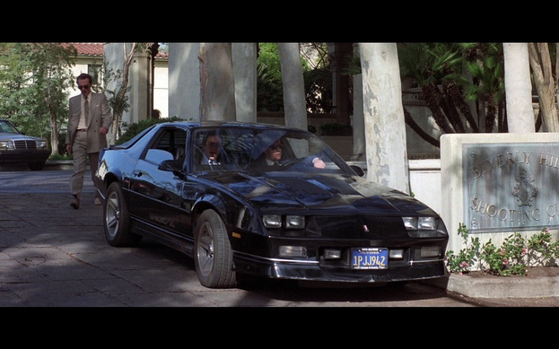 Chevrolet Camaro IROC-Z28 Car in Beverly Hills Cop 2