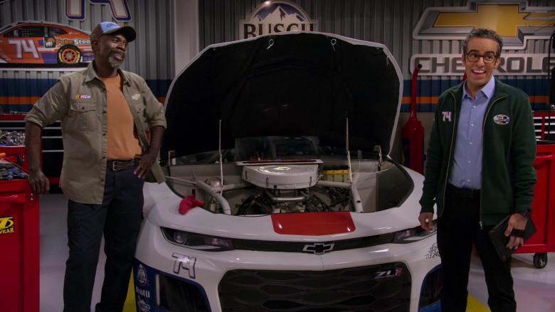 Chevrolet Camaro ZL1 NASCAR Sports Car in The Crew S01E10 Netflix TV Show