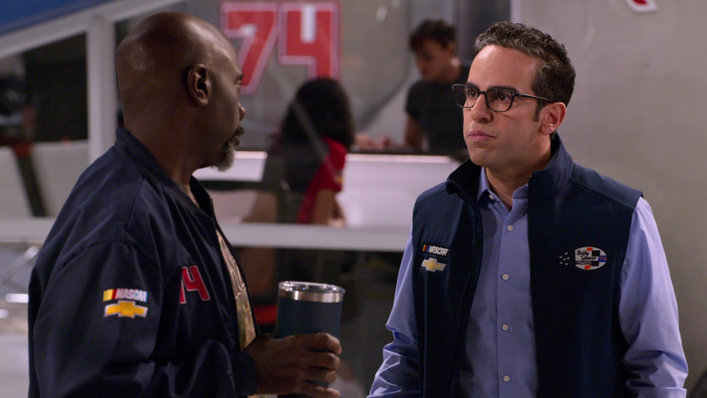Chevrolet Nascar Vest Worn by Dan Ahdoot as Amir in The Crew S01E01
