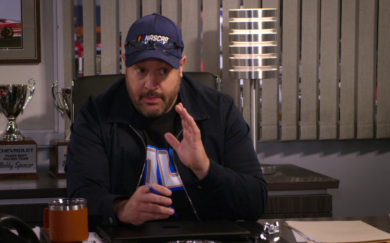 Chevrolet Trophy and Yeti Mug in The Crew S01E07 Ooof, Someone Throw A Robe On Grandma (2021)