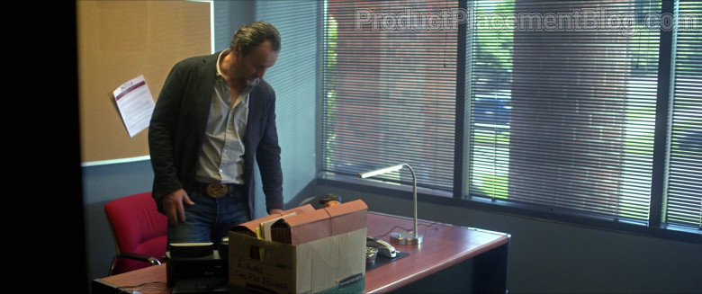 Cisco Phone and Bankers Box in Silk Road Movie