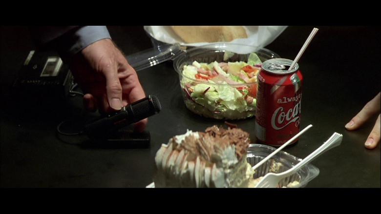 Coca-Cola Classic Soda Can in FaceOff (1997)