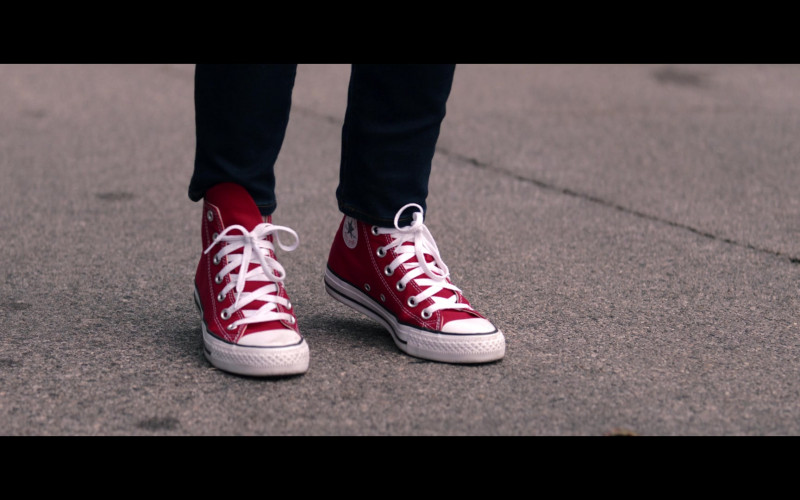 Converse Red Shoes in WandaVision S01E08 Previously On (2021)