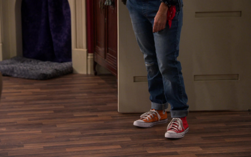 Converse Shoes of Soleil Moon Frye in Punky Brewster S01E01 (1)