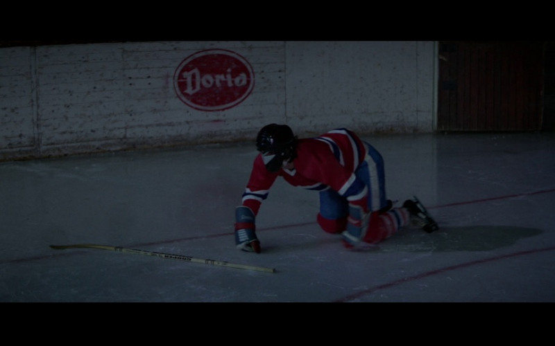 Cooper ice hockey stick and Doria in For Your Eyes Only (1981)
