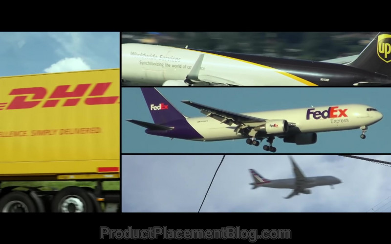DHL, UPS and FedEx Express in Silk Road (2021)