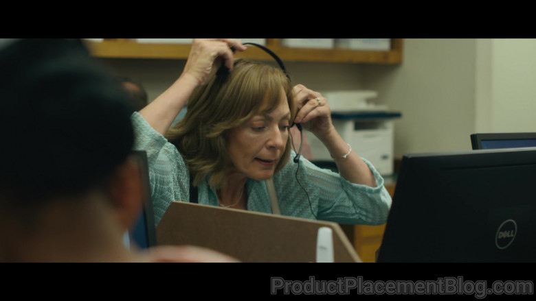 Dell Computer Monitor Used by Allison Janney as Sue Buttons in Breaking News in Yuba County (1)