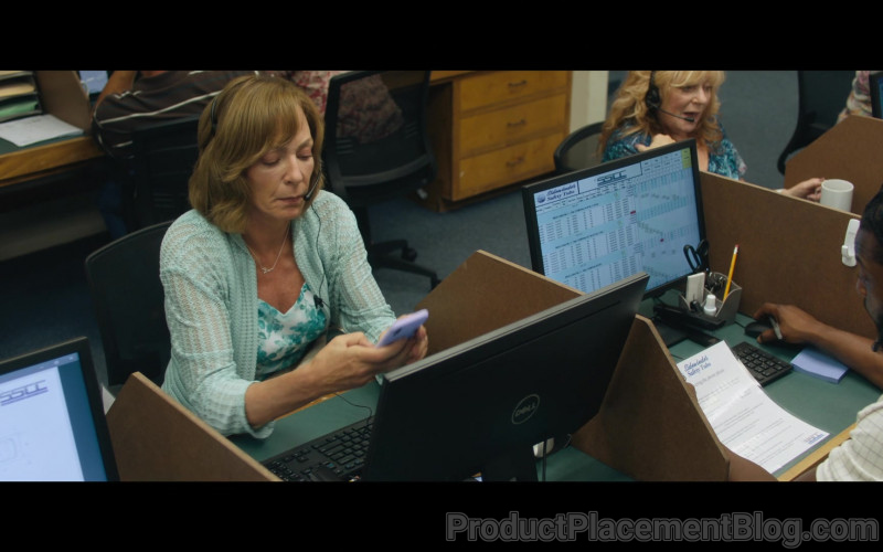 Dell Computer Monitor Used by Allison Janney as Sue Buttons in Breaking News in Yuba County (2)