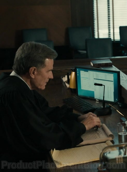 Dell Computer Monitor Used by Bryan Cranston as Michael Desiato in Your Honor S01E09 Part Nine (2021)