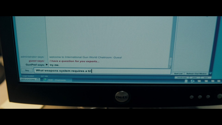 Dell Computer Monitor in Shooter (2007)