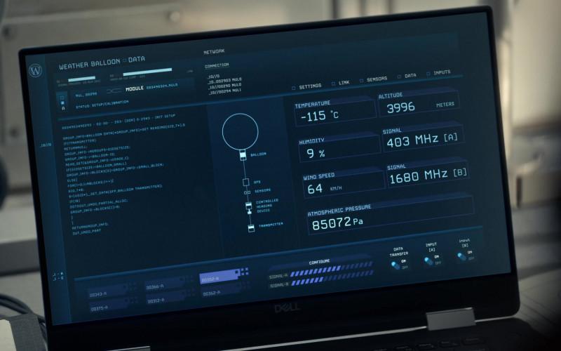 Dell Laptop in Snowpiercer S02E02 Smolder to Life (2021)