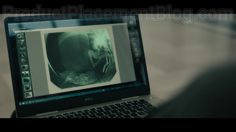 Dell Laptop of Amy Landecker as Nancy Costello in Your Honor S01E09 TV Show (2)