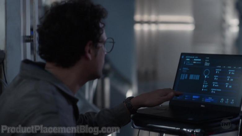 Dell Laptop of Roberto Urbina as Javier de La Torre in Snowpiercer S02E04