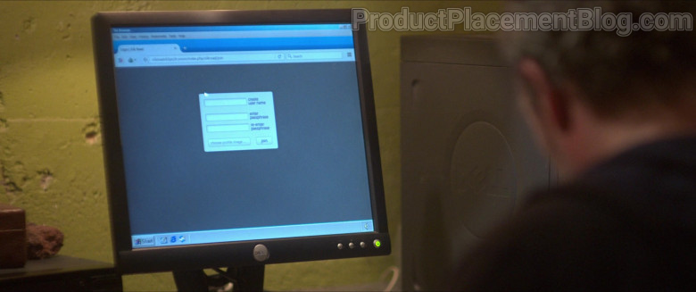 Dell Monitor and Computer Used by Jason Clarke as Richard 'Rick' Bowden in Silk Road (2021)