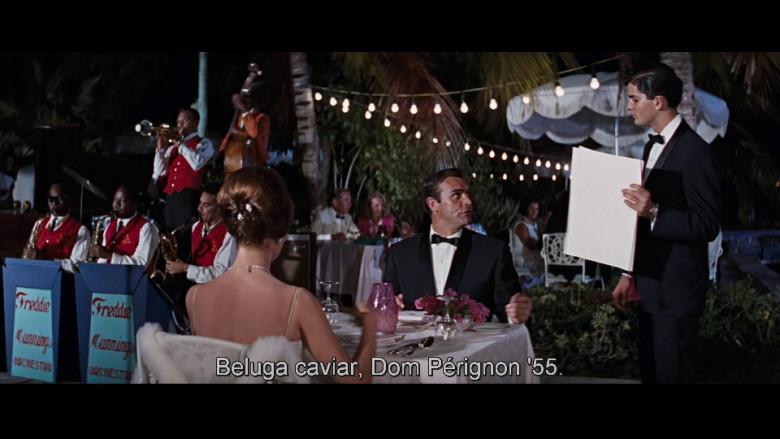 Dom Pérignon Champagne in Thunderball (1965)
