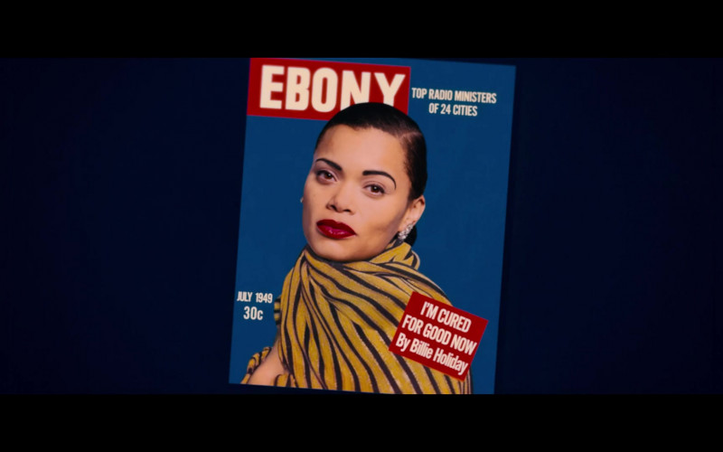 Ebony Magazine in The United States vs. Billie Holiday (2021)