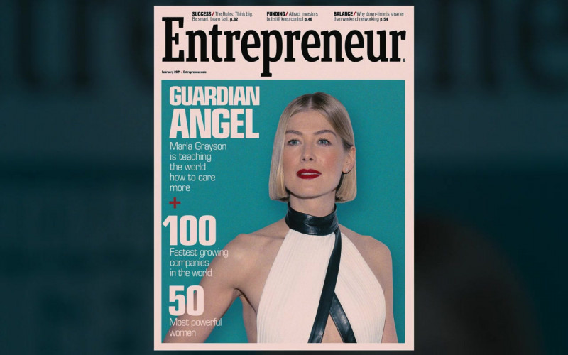 Entrepreneur Magazine in I Care a Lot (2020)