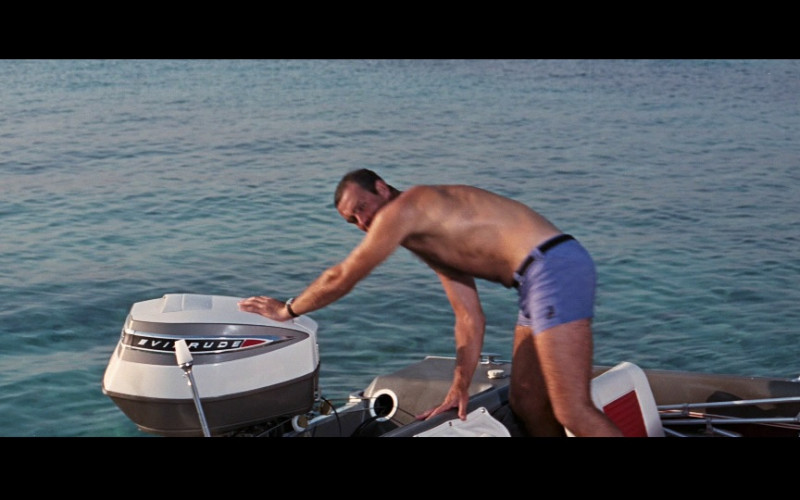 Evinrude Boat Engine in Thunderball (1965)