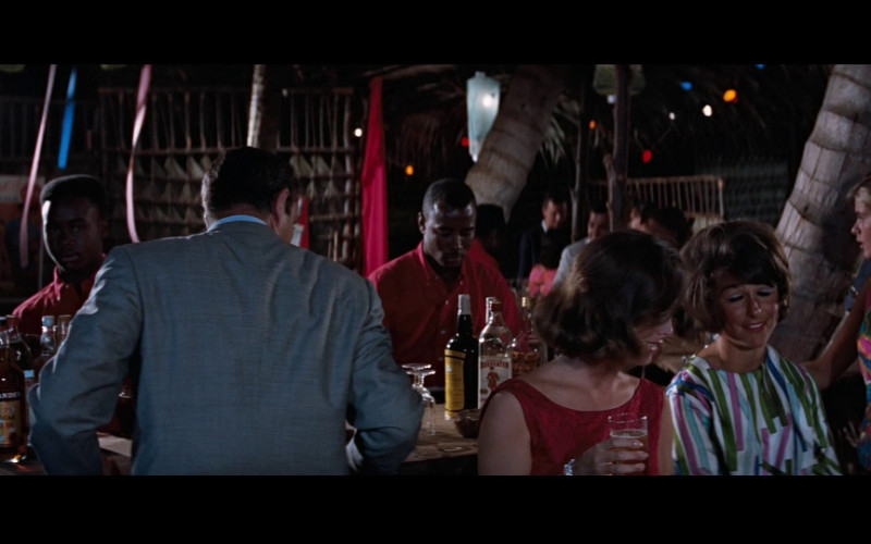 Fernandes Vat 19 Trinidad Rum, Cutty Sark whisky & Beefeater gin in Thunderball (1965)