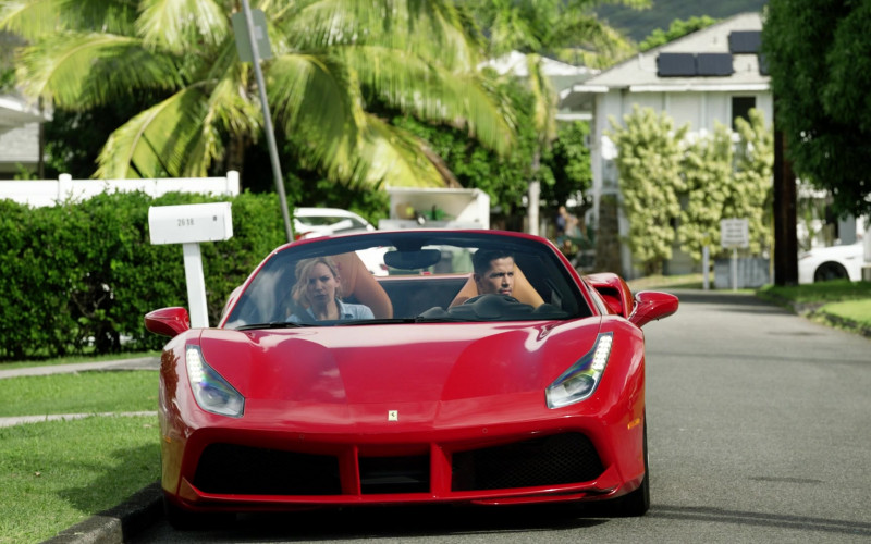 Ferrari 488 Spider Car Spotted in Magnum P.I. S03E07 TV Series (3)