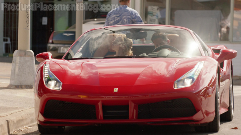 Ferrari 488 Spider Car of Javier Manuel Hernandez Jr. as Thomas in Magnum P.I. S03E08 (2)