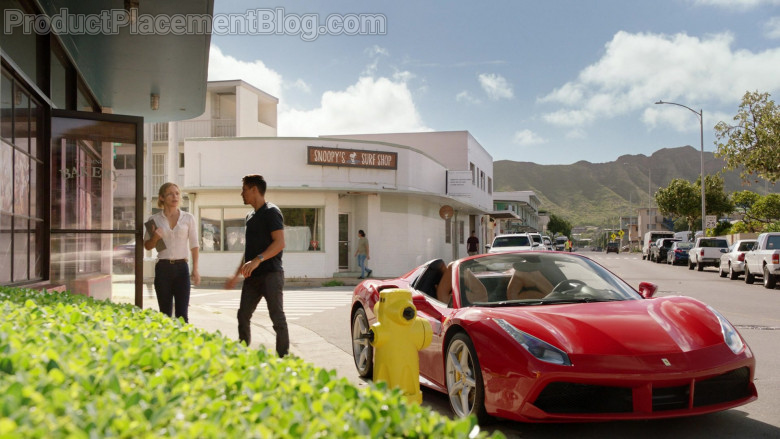 Ferrari 488 Spider Car of Javier Manuel Hernandez Jr. as Thomas in Magnum P.I. S03E08 (4)