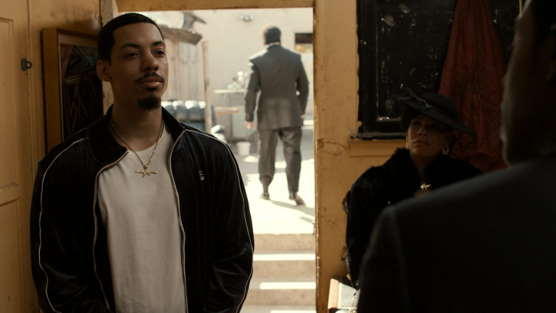 Fila Men's Jacket Worn by Actor in Snowfall S04E01 Re-Entry (2021)