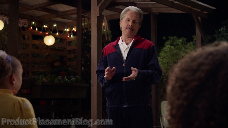 Fila Men's Tracksuit of Gary Cole as Harrison Jackson III in Mixed-ish S02E04 (1)