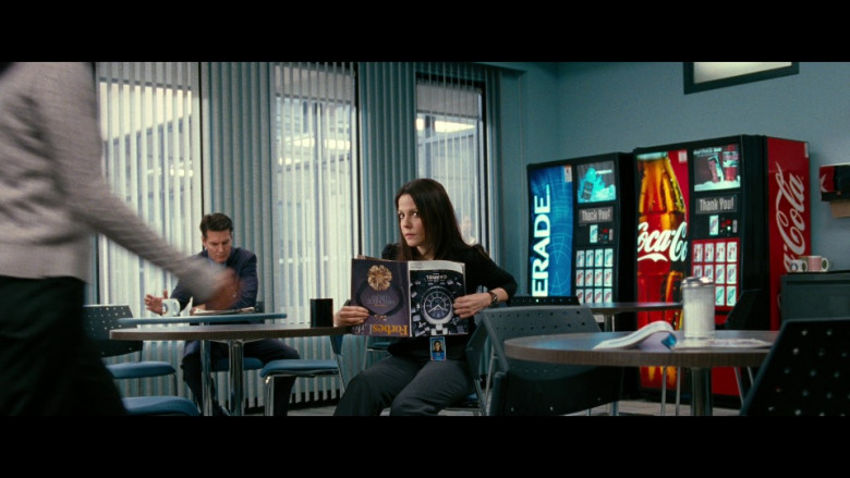 Forbes Life magazine, Chanel Ad, Powerade & Coca-Cola Vending Machines in Red (2010)