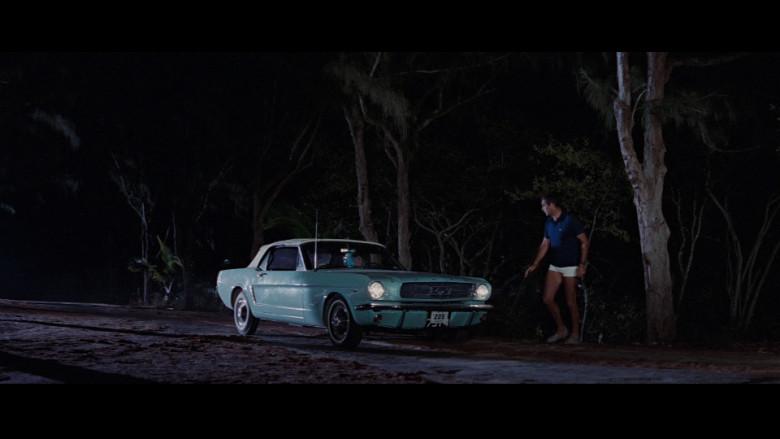 Ford Mustang Convertible Car in Thunderball (1965)