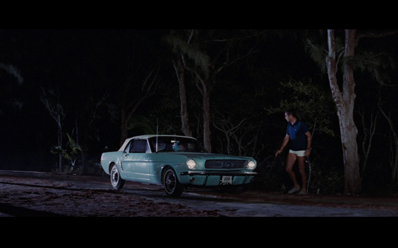 Ford Mustang Convertible Car in Thunderball (1965)