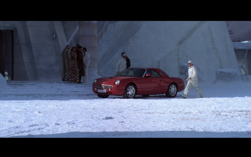 Ford Thunderbird Red Car in Die Another Day (2002)