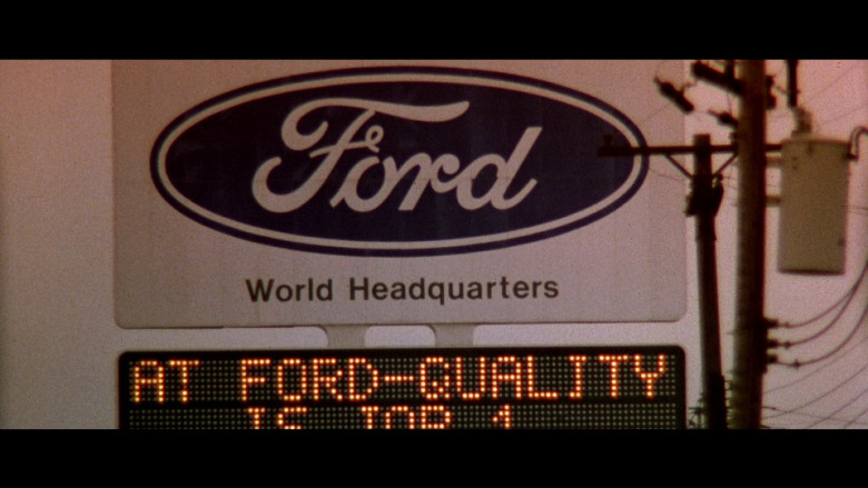 Ford in Beverly Hills Cop 2 (1987)