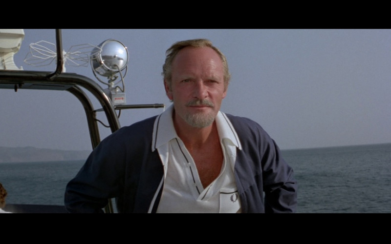 Fred Perry Men's Polo Shirt of Julian Glover as Aristotle Kristatos in For Your Eyes Only (1981)