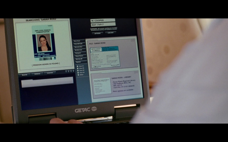 Getac Laptop in Red (2010)