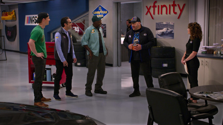 Goodyear Tires and Xfinity in The Crew S01E09 Monkeys and Bears Riding Bicycles (2021)
