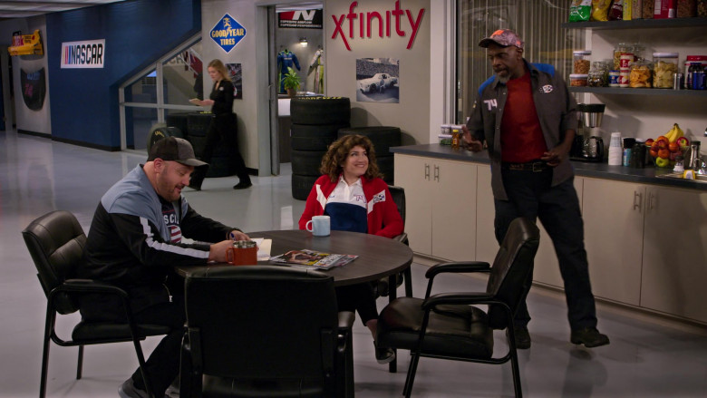 Goodyear and Xfinity in The Crew S01E05 Your Face Is A Baby (2021)