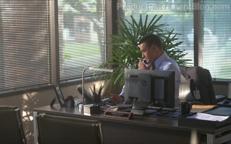 HP Computer Monitor Used by Will Ropp as Timothy Shields in Silk Road (2021)