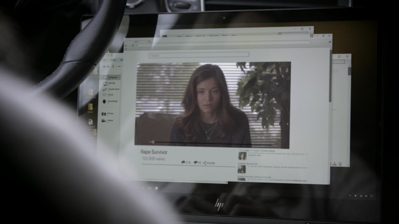 HP Laptop of Amy Brenneman as Mary Barlow in Tell Me Your Secrets S01E05 (2)
