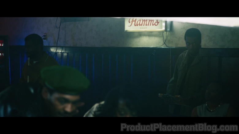 Hamm's Beer Sign in Judas and the Black Messiah (2021)