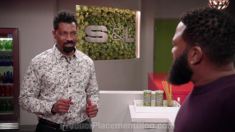 Hapi Hot Wasabi Peas in Black-ish S07E09 Black-out (2021)