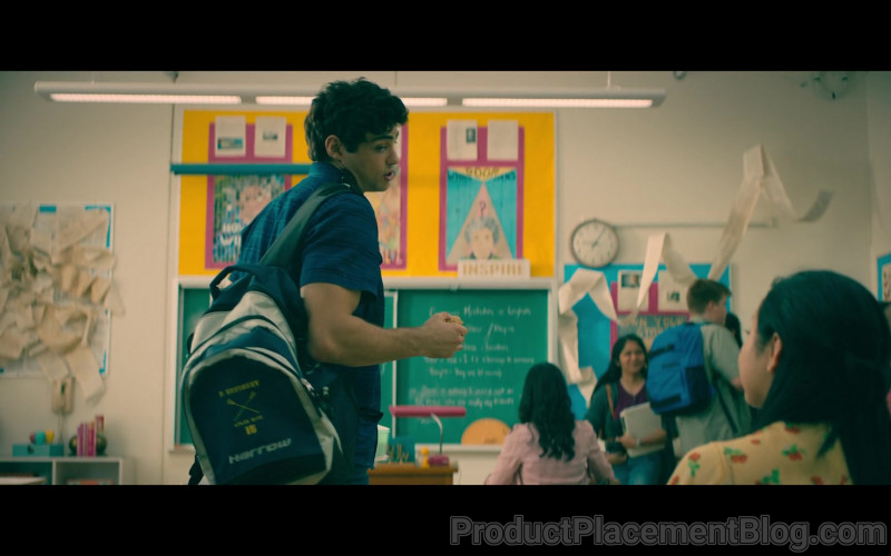 Harrow Sports Backpack of Noah Centineo as Peter Kavinsky in To All the Boys Always and Forever (1)